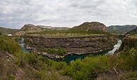Morača är en flod och kanjon i republiken Montenegro.